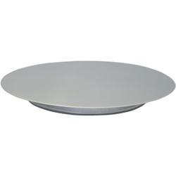 SCHNEIDER Tortenplatte, Edelstahl, Kuchenplatte aus Edelstahl, Durchmesser: 240 mm