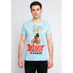 LOGOSHIRT T-Shirt mit Asterix-Print Asterix Magic Poison blau S
