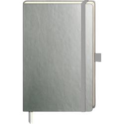 VBS Notizbuch Notizbuch, 192 Seiten gepunktet silberfarben
