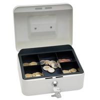 Wedo Geldkassette 20,0x16,0x9,0cm weiß