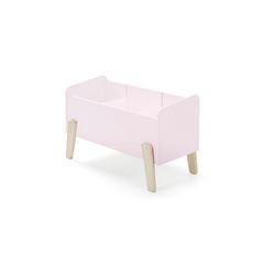 Spielkiste Cameron Vipack Retro-Design mit 3 Fächern rosa/pink