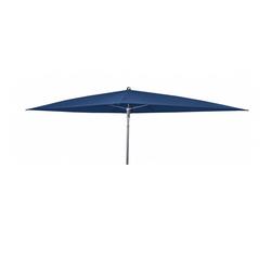 Doppler WATERPROOF III wasserdichter Sonnenschirm 225x120cm ohne Volant blau