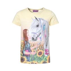 Miss Melody T-Shirt Miss Melody T-Shirt für Mädchen gelb 104/110