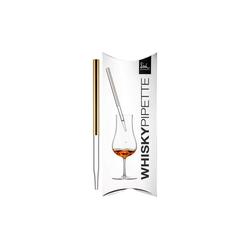 Eisch Whisky-Pipette Gentleman Whisky-Pipette Gold im Geschenkkarton
