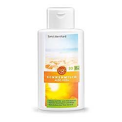 Aloe-Vera-Sonnenschutzmilch LSF 30