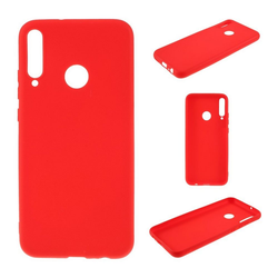 CoverKingz Handyhülle Huawei P40 Lite E Handy Hülle Silikon Case Cover Bumper Matt Rot Huawei P40 Lite E rot