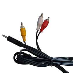 Octagon RCA Klinke Audio/Video (A/V) Kabel für Octagon Modelle
