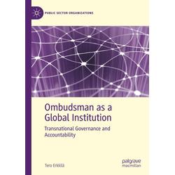 Ombudsman as a Global Institution als Buch von Tero Erkkilä