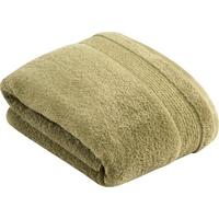 VOSSEN Duschtuch Balance (1-St), antibakteriell durch Hanf grün 100 cm x 150 cm