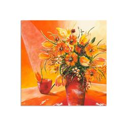 Artland Wandbild Blumenstrauß in Vase I, Blumen (1 Stück) 70 cm x 70 cm