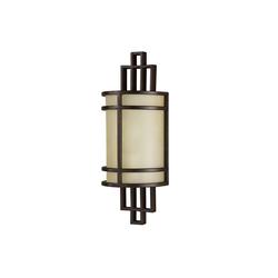 Licht-Erlebnisse Wandleuchte SHOJI Wandlampe Jugendstil Creme Bronze Premium Designerlampe Lampe