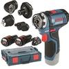 Bosch GSR 12V-15 FC Professional inkl. 2 x 2,0 Ah + L-Boxx (06019F6000)