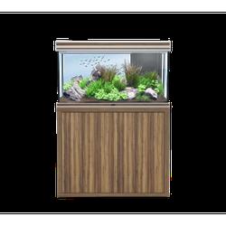 Aquatlantis FUSION LED 2.0 Aquarium Kombination, Fusion 100 zebrano