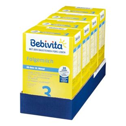 Bebivita 3 Folgemilch 500g, 4er Pack