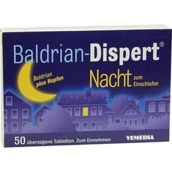 BALDRIAN DISPERT Nacht zum Einschlafen üb.Tabl. 50 St