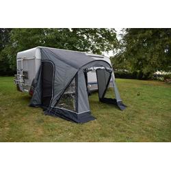 Green Yard Vorzelt GreenYard Vorzelt Wohnwagen Wohnmobil 2,6m Wohnwagenvorzelt Reisevorzelt Campingzelt