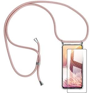 Handykette Handyhülle mit Band für Samsung Galaxy S20FE Cover - Handy-Kette Handy Hülle mit Kordel Umhängen -Handy Halsband Lanyard Case/Handy Band Halsband Necklace