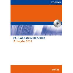 PC-Lohnsteuertabellen 2019 Netzwerkversion 1 CD-ROM