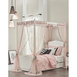 Möbel-Lux Kinderbett Lory Himmelbett mit Aufsatz inkl. Mosquitonetz in zwei Größen (Set), inkl. Betthimmer, Mosquitonetz