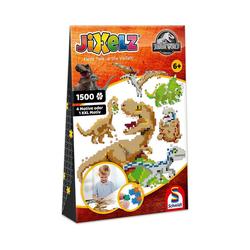 Schmidt Spiele Puzzle Jixelz Puzzle Jurassic World, 1.500 Teile, Puzzleteile