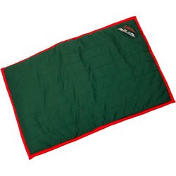 kleinmetall Hundekissen Softplace grün/rot Größe L