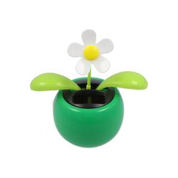 AccuCell Fahne Solar Wackelblume Dancing Flower mit wackelnden Bl