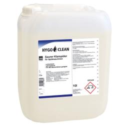 HYGOCLEAN Saurer Klarspüler für Spülmaschinen, Klarspülmittel universell einsetzbar, 10 Liter – Kanister