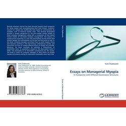 Essays on Managerial Myopia als Buch von Terhi Chakhovich