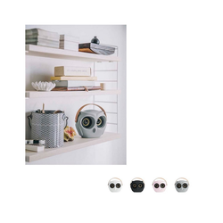 KREAFUNK Lautsprecher aOwl Bluetooth-Lautsprecher schwarz