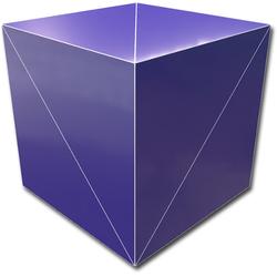GeoBender Würfelpuzzle Cube Primary-2 bunt Kinder Puzzle Gesellschaftsspiele