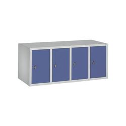 CP Aufsatzschrank Aufsatzschrank, Tür einwandig glatt grau 119 cm x 50 cm x 50 cm