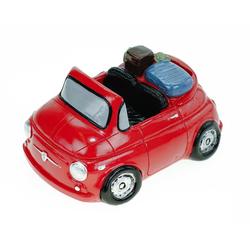 Udo Schmidt Bremen...das Original Spardose Spardose Mini mit Koffer 16 cm Reisekasse Urlaubskasse Urlaub Sparschwein
