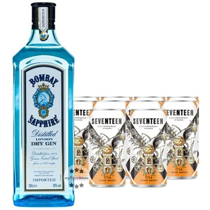 Bombay Sapphire Gin & 1724 Tonic Set