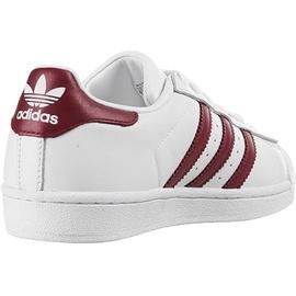 adidas Superstar white bordeaux white, 37.5 ab 79,99 € im