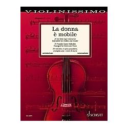 La donna è mobile  Violine und Klavie - Buch