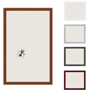Insektenschutz Spannrahmen, Fliegengitter für Fenster, fertig auf Mass, als Bausatz, in goldeiche