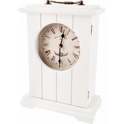 Schmuckschrank »Uhr«, Schränke, 92158258-0 weiß weiß 24,5 x 33,5 x 11,5 (B x H x T) cm