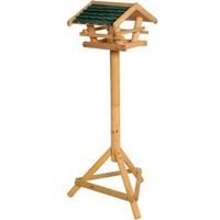 Dobar Vogelhaus mit Bitumenschindel-Dach grün