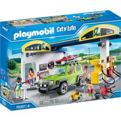 Playmobil® Spiel, PLAYMOBIL® City Life Große Tankstelle
