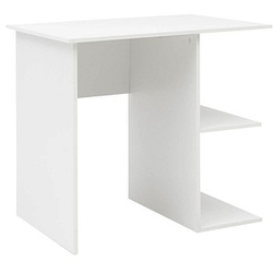 WOHNLING Schreibtisch weiß rechteckig