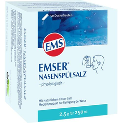 EMSER Nasenspülsalz physiologisch Btl. 50 St