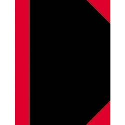 Kladde 112671602 Notizbuch kariert Schwarz, Rot Anzahl der Blätter: 100 DIN A5