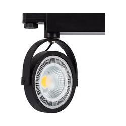 Ledkia - Strahler-Fassungen Für AR111 Dreiphasen Strahler für Glühbirnen Schwarz