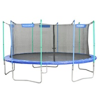Hudora Fitness 480 cm inkl. Sicherheitsnetz blau
