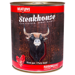 (4,50 EUR/kg) Fleischeslust Steakhouse Rind Pur 800 g