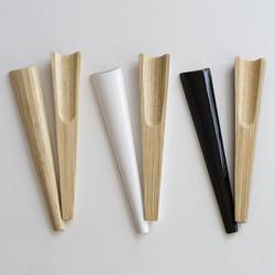 Bambus Salatbesteck weiß