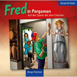Fred in Pergamon