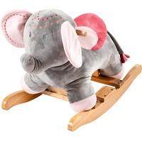Nattou Schaukelelefant grau