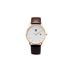 AIBI Armbanduhr n klassischem Design braun