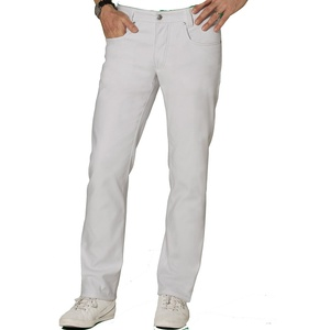 BP 1733-687-21-38/34 Jeans für Männer, Stretch-Stoff, 300,00 g/m2 Stoffmischung mit Stretch, weiß, 38/34
